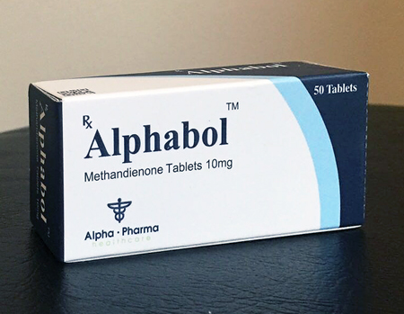 Methandienone Oral from Alpha-Pharma